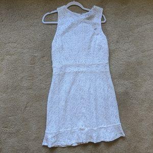 LOFT White Lace Dress